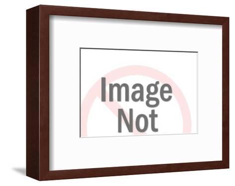 Truck Camper-Pop Ink - CSA Images-Framed Art Print