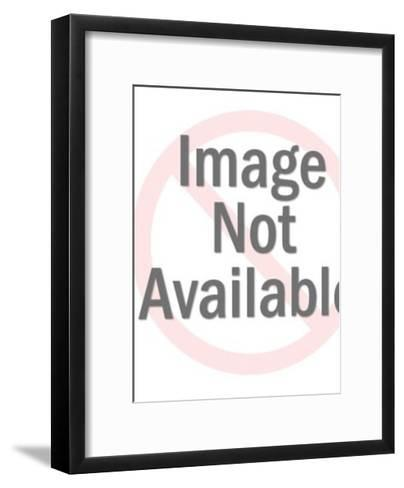Couple Taking in  A View-Pop Ink - CSA Images-Framed Art Print