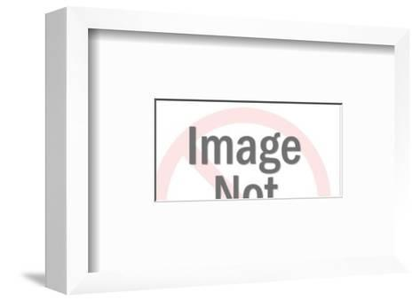 Two Men Boxing-Pop Ink - CSA Images-Framed Art Print