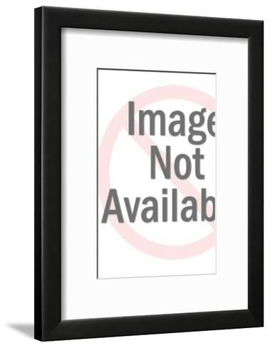People With Speech Balloons-Pop Ink - CSA Images-Framed Art Print