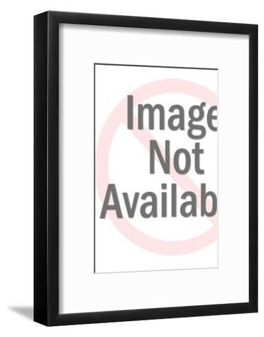 Stork Delivering Baby-Pop Ink - CSA Images-Framed Art Print