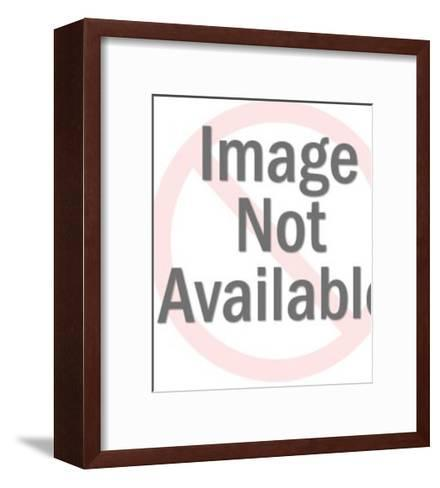 Eldery Woman-Pop Ink - CSA Images-Framed Art Print