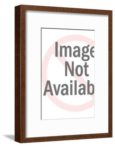 Man Pointing-Pop Ink - CSA Images-Framed Art Print