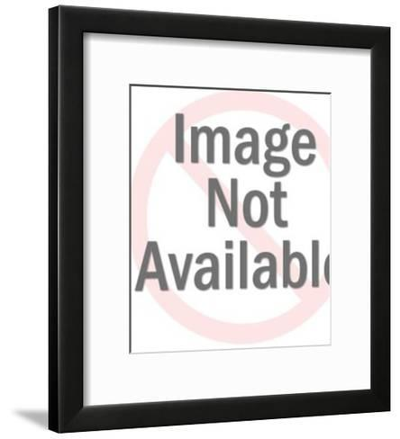 Laughing Man Wearing Glasses-Pop Ink - CSA Images-Framed Art Print