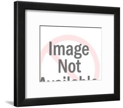 Skull and Crossbones-Pop Ink - CSA Images-Framed Art Print