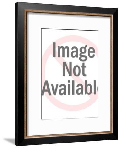 Pointing Bird-Pop Ink - CSA Images-Framed Art Print