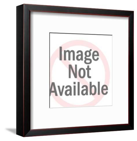 High top Sneaker-Pop Ink - CSA Images-Framed Art Print