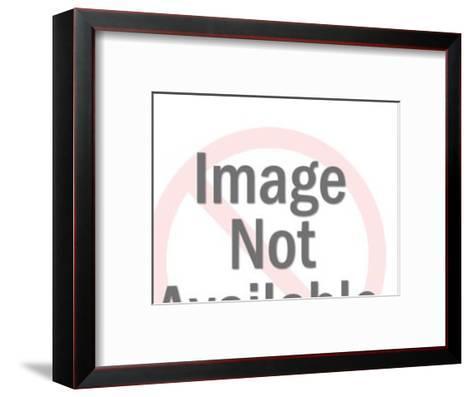 Steer Skull-Pop Ink - CSA Images-Framed Art Print