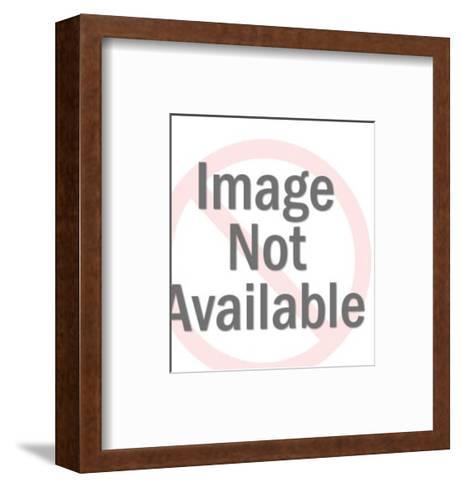 Man Wearing Trucker Hat-Pop Ink - CSA Images-Framed Art Print
