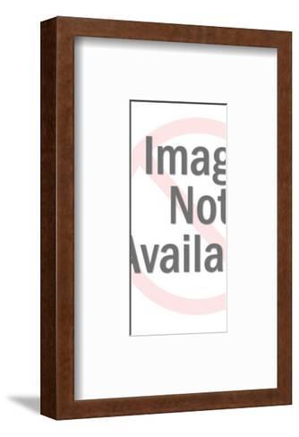 Woman Wearing Dress-Pop Ink - CSA Images-Framed Art Print
