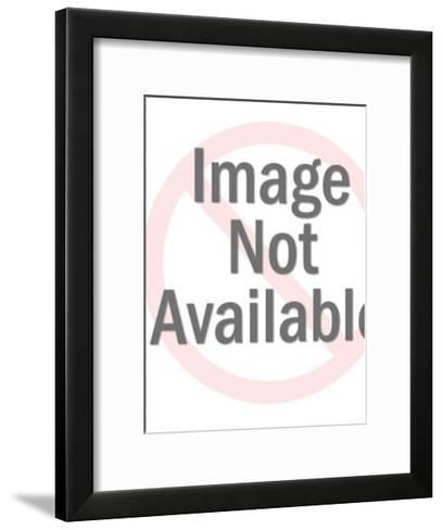 Cupid Holding Heart and Arrow-Pop Ink - CSA Images-Framed Art Print