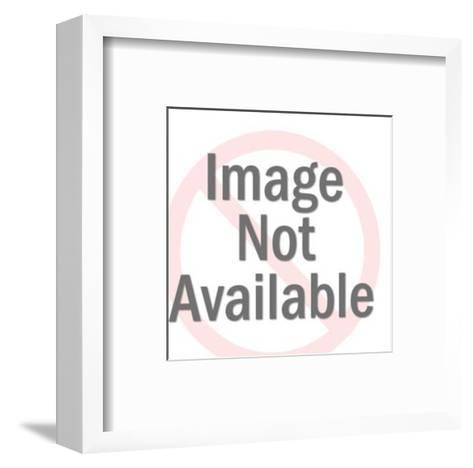 Heart Doily-Pop Ink - CSA Images-Framed Art Print