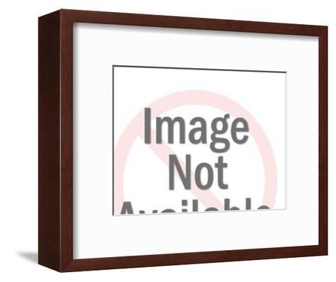 Party in Mouth of Man-Pop Ink - CSA Images-Framed Art Print