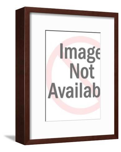 Short Fat Man and Tall Thin Man-Pop Ink - CSA Images-Framed Art Print