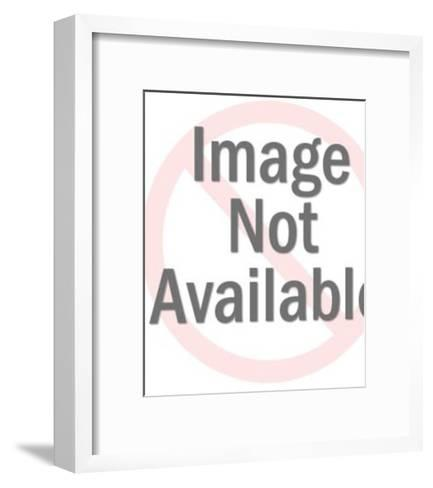 Martini Drink-Pop Ink - CSA Images-Framed Art Print