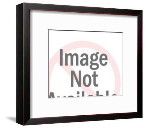 Dog Standing-Pop Ink - CSA Images-Framed Art Print