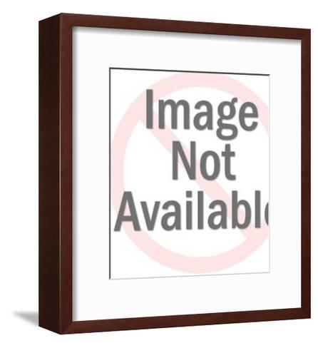 Sick Dog-Pop Ink - CSA Images-Framed Art Print