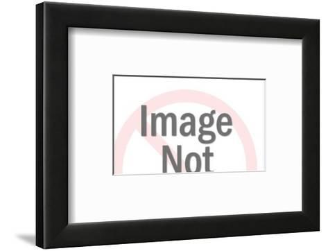 Man Driving Truck-Pop Ink - CSA Images-Framed Art Print