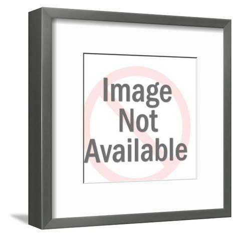 Cancer Zodiac Symbol-Pop Ink - CSA Images-Framed Art Print