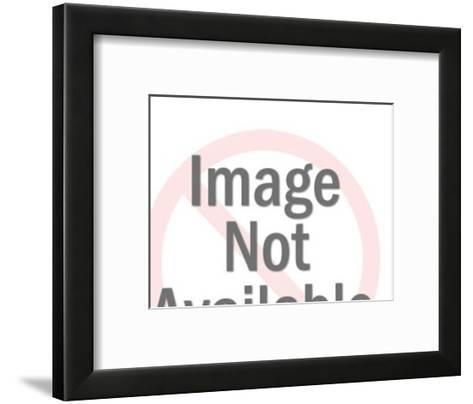 Pen and Check-Pop Ink - CSA Images-Framed Art Print