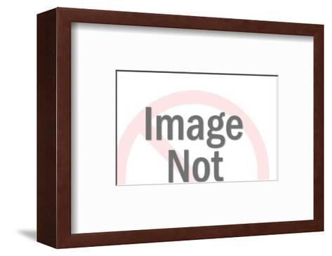 Ill Man Holding Gun-Pop Ink - CSA Images-Framed Art Print