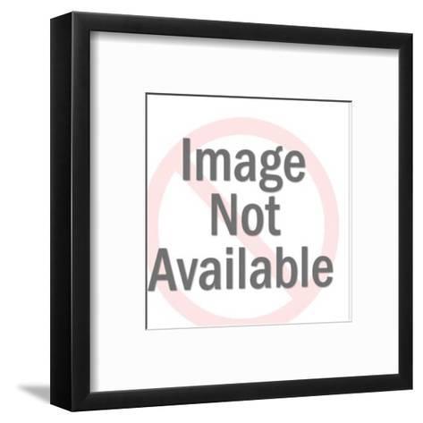 Flames-Pop Ink - CSA Images-Framed Art Print