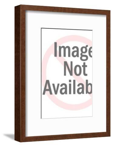 Black Cat Sitting-Pop Ink - CSA Images-Framed Art Print