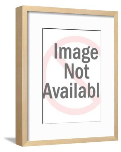 Man and Woman With Food and Drink-Pop Ink - CSA Images-Framed Art Print