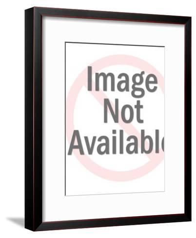 Man Catching Lots of Fish-Pop Ink - CSA Images-Framed Art Print