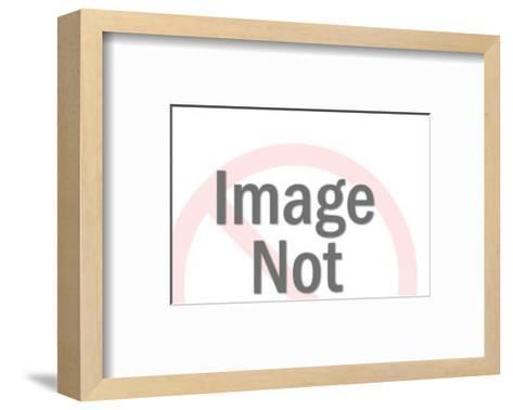 Man Mentally Dissecting Pig-Pop Ink - CSA Images-Framed Art Print