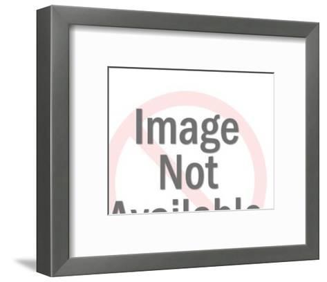 Exacavator-Pop Ink - CSA Images-Framed Art Print