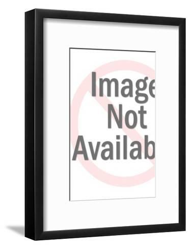 Man Holding Ruler-Pop Ink - CSA Images-Framed Art Print