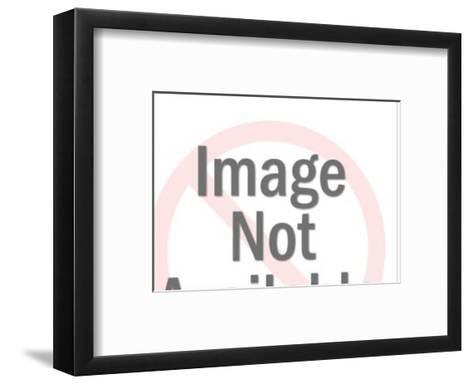 Clown Reclining-Pop Ink - CSA Images-Framed Art Print