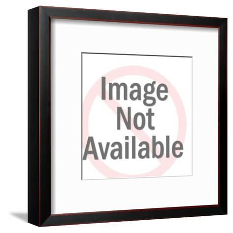 Man Plugging His Ears-Pop Ink - CSA Images-Framed Art Print