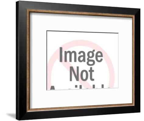 Bunnies Carrying Egg-Pop Ink - CSA Images-Framed Art Print