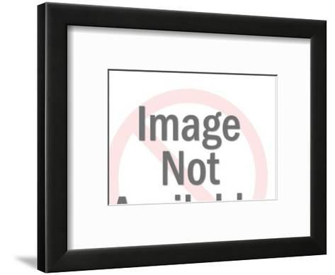 Sneaky Cat-Pop Ink - CSA Images-Framed Art Print