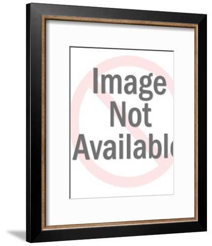 Bear Pointing-Pop Ink - CSA Images-Framed Art Print