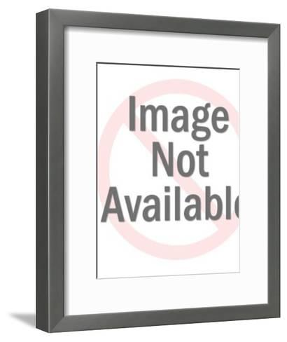 Santa Claus Waving-Pop Ink - CSA Images-Framed Art Print