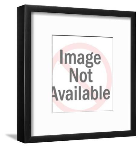 Male Lion Head-Pop Ink - CSA Images-Framed Art Print