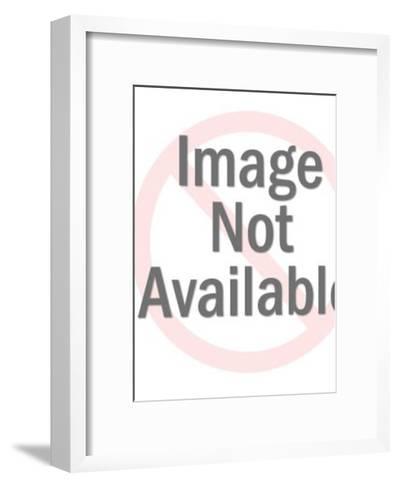 Dog Pouring Drink-Pop Ink - CSA Images-Framed Art Print