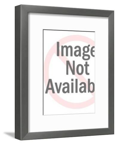 Sitting Man With Back Pain-Pop Ink - CSA Images-Framed Art Print
