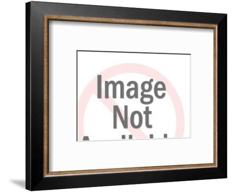 Food and Wine Menu-Pop Ink - CSA Images-Framed Art Print