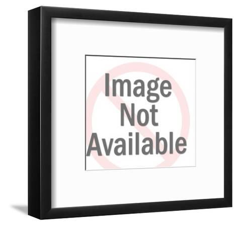 Romantic Cat Couple-Pop Ink - CSA Images-Framed Art Print