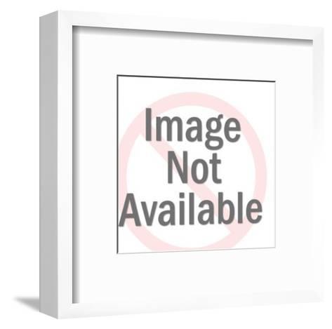 Stylized Crane-Pop Ink - CSA Images-Framed Art Print