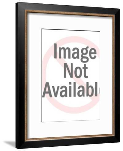Man Standing With Shield-Pop Ink - CSA Images-Framed Art Print