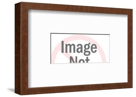 Waves-Pop Ink - CSA Images-Framed Art Print