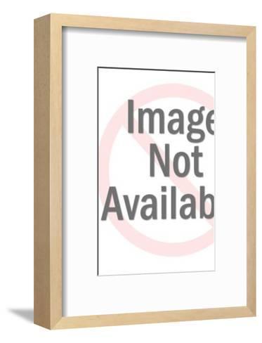 Man Holding Envelope-Pop Ink - CSA Images-Framed Art Print