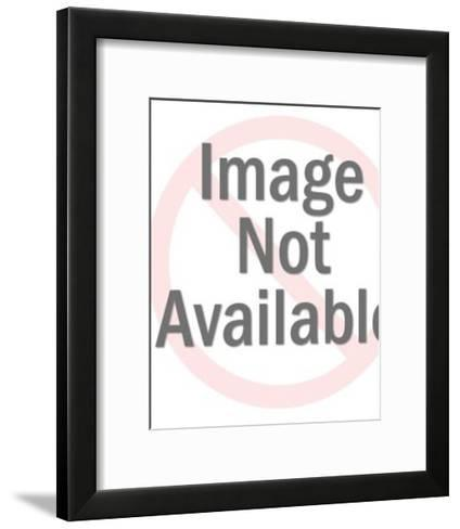 Queen Inside Q With Crown-Pop Ink - CSA Images-Framed Art Print