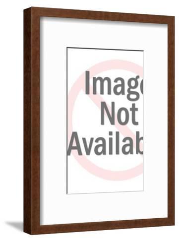 Three Man Totem Pole-Pop Ink - CSA Images-Framed Art Print