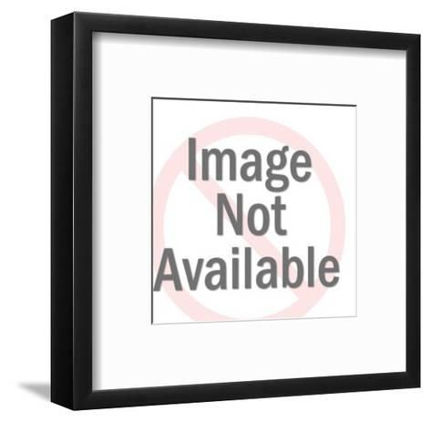 Angry Man Yelling-Pop Ink - CSA Images-Framed Art Print
